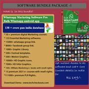 Marketing video courses, software and contact information