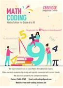 Maths Tuition - Grade 6,7,8,9,10, ICSE, CBSE, Bangalore, Chennai