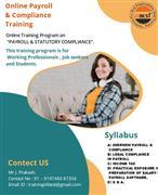 Payroll and Statutory Complince training